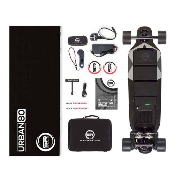 Urban 80 Electric Skateboard Kit Inclusions