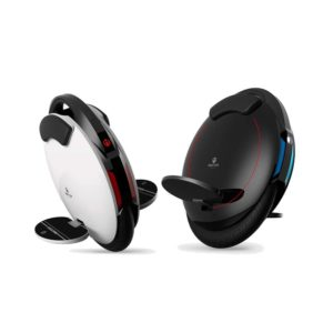 Inmotion v5f electric unicycle black and white colour