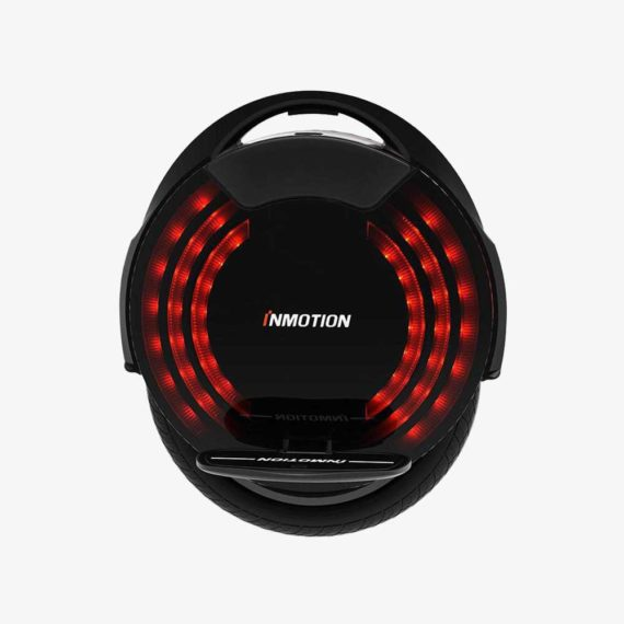 Inmotion V8F electric unicycle side view