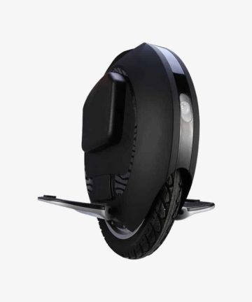 King Song KS-16S black electric unicycle front angle view