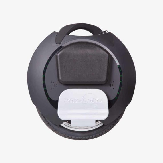 King Song KS-16S black electric unicycle side view