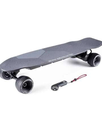 Urban Kick Electric Skateboard with rough stuff wheels and controller