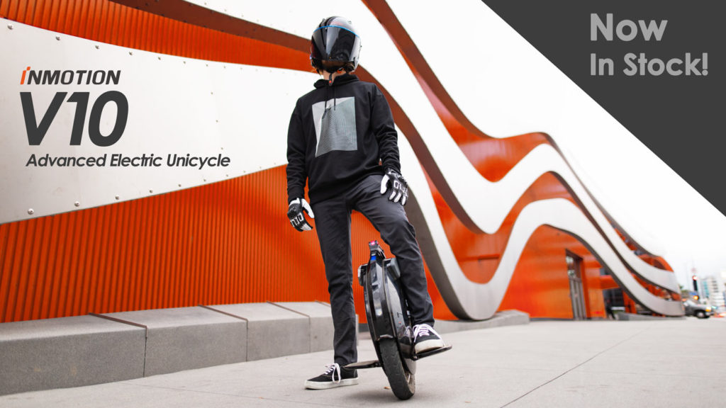 Inmotion advanced electric unicycles