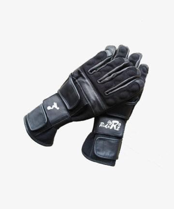 Gyroriderz gloves black pair - top