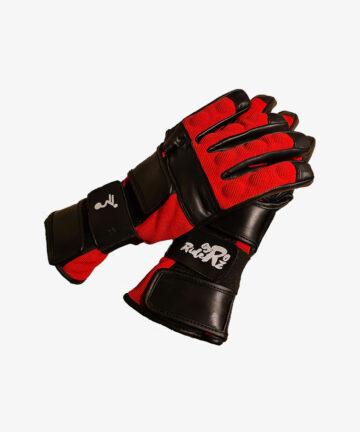 Gyroriderz gloves black-red pair - top