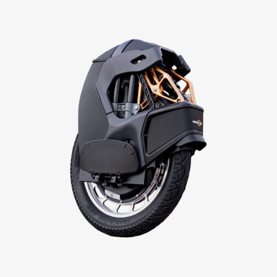 KingSong S18 Black Electric Unicycle - side rear view