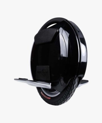 KingSong KS14D electric unicycle side front view