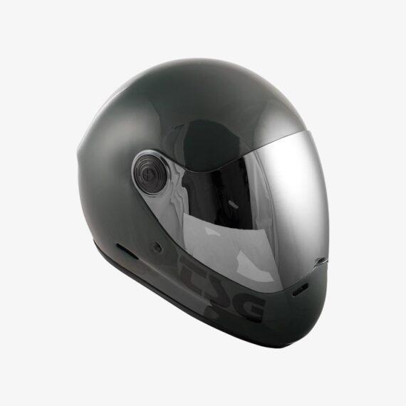 TSG Pass Helmet Gloss Marsh - side view