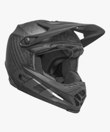 Bell Full-9 Full face DH MTB Helmet - matte black-front right