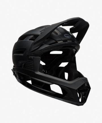 Bell Super Air R Flex MIPS Helmet Matte Gloss Black front right