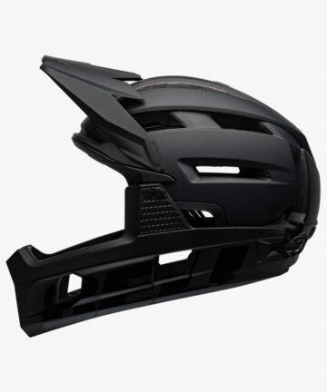 Bell Super Air R Flex MIPS Helmet Matte Gloss Black left