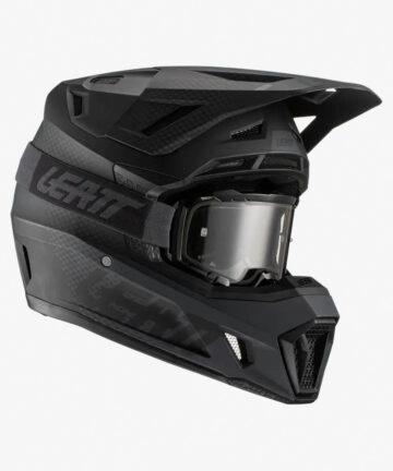 Leatt 2021 Moto 7.5 Helmet and Goggle Kit - front right