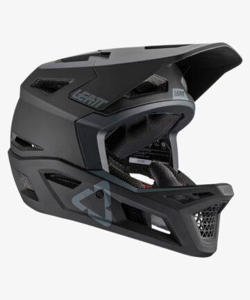 Leatt Helmet MTB 4.0 V21 Black right front