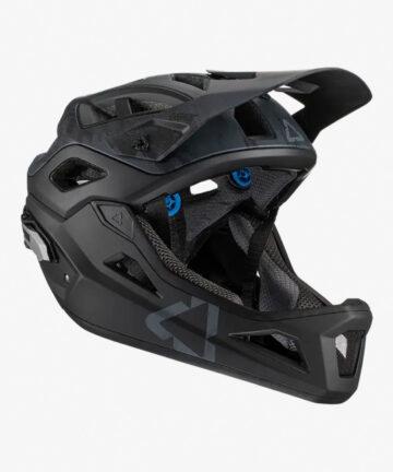 Leatt MTB 3.0 Enduro V21 Helmet black front right