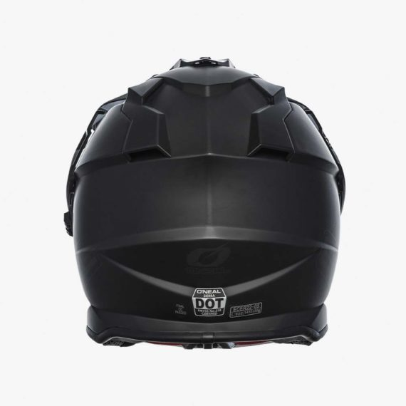 ONeal 2021 Seirra II Helmet Flat Black back