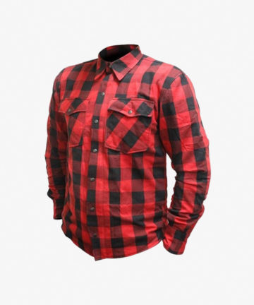 RJAYS Regiment Flannel Shirt - Red and Black