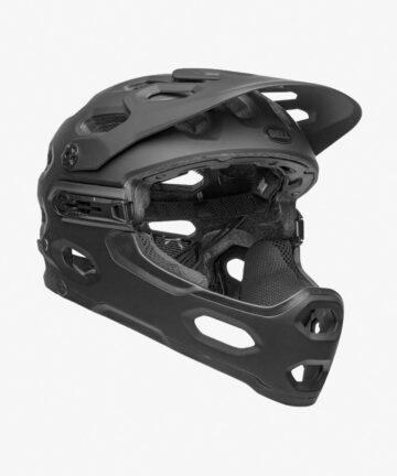 Bell Super 3R MIPS Helmet black front right side
