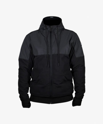 Lazyrolling Armored 2021 Black on Black Reflective Jacket front