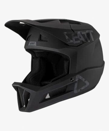 Leatt MTB 1.0 DH V21 Helmet Black front left