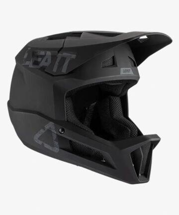 Leatt MTB 1.0 DH V21 Helmet Black front right