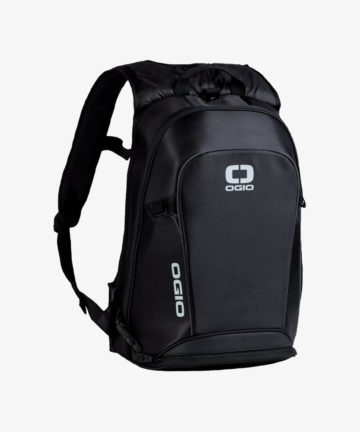 OGIO No Drag Mach LH Backpack Stealth front