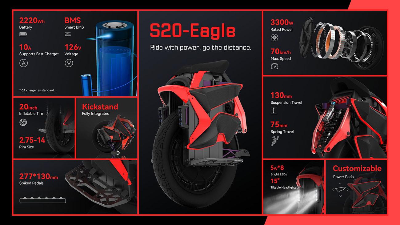 KingSong S-20 Eagle Details